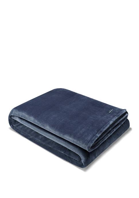 Solid Ultra Soft Plush Fleece Blanket