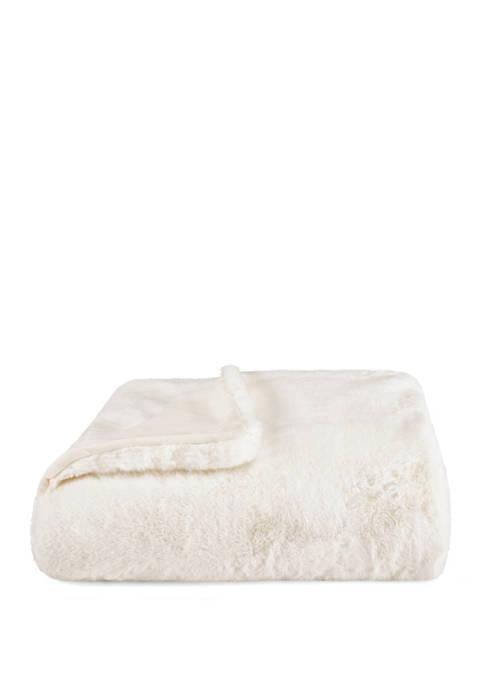 Lapin Faux Fur Throw Blanket