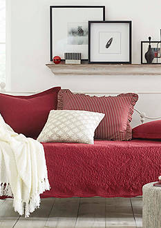Stone Cottage Trellis Scarlet Daybed Set