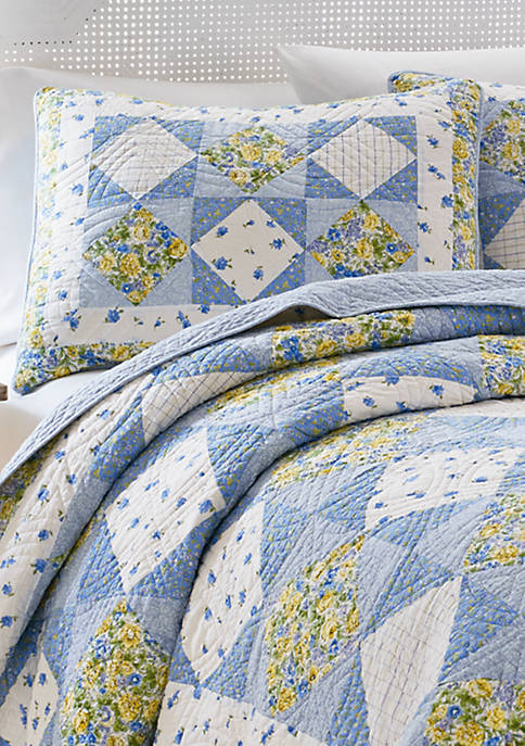 Grace Blue Multi Standard Sham 20-in. x 26-in.