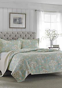 Twin Brompton Serene Quilt Set