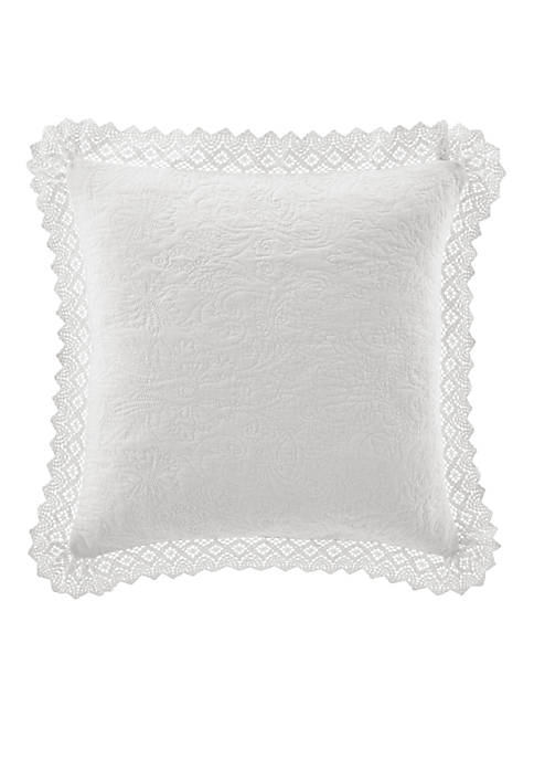 Crochet Decorative Pillow 16-in. x 16-in.