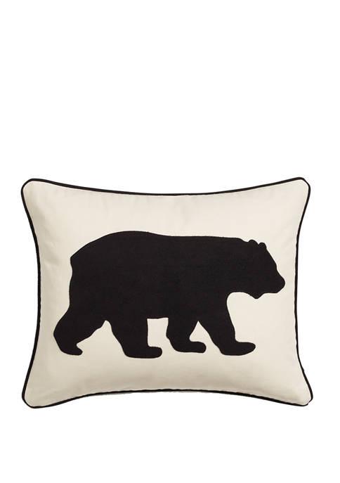 CITY SCENE® Eddie Bauer Bear Twill Decorative Pillow