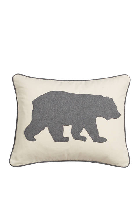 Bear Cotton Decorative Pillow