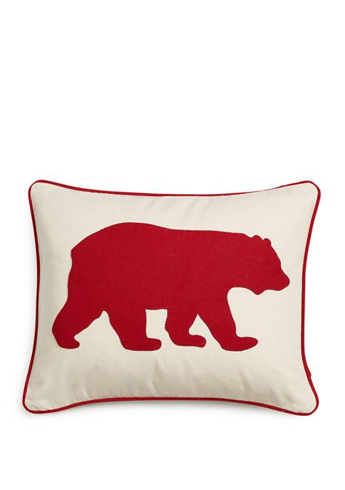 Eddie Bauer Bear Decorative Pillow