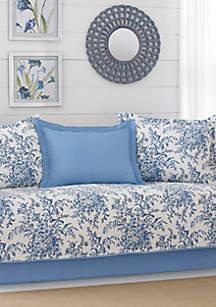 Bedford Blue Daybed Set