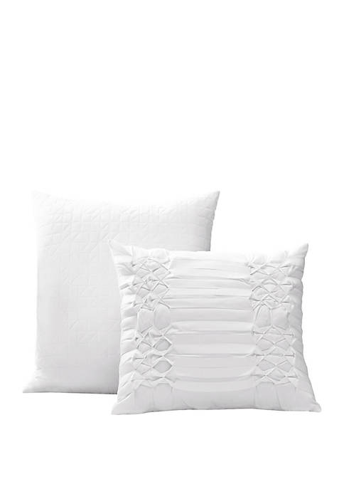 Triple Diamond Throw Pillow
