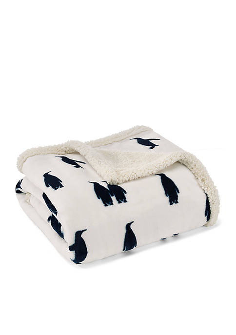 Eddie Bauer Emperor Penguin Throw