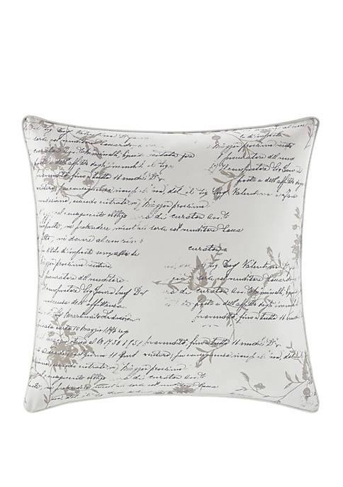 Stone Cottage Script Throw Pillow