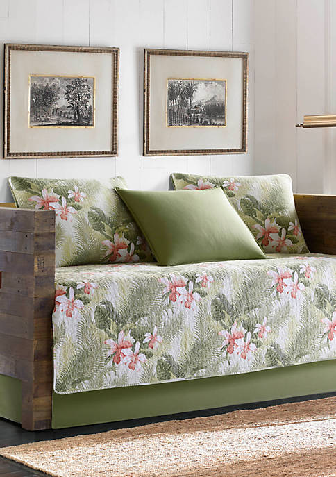 Tropical Orchid Daybed Set