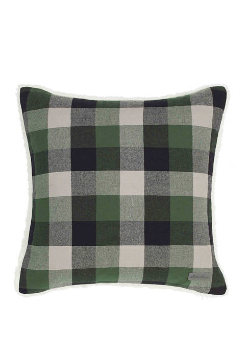 Eddie Bauer Finley Plaid Pine Decorative Pillow