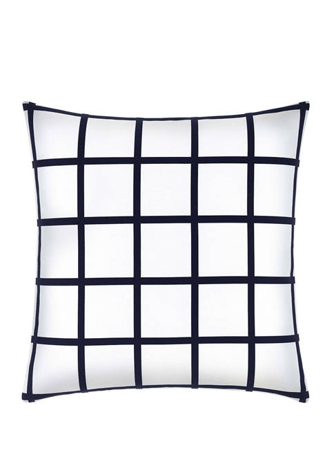 Now House by Jonathan Adler Grid Throw Pillow