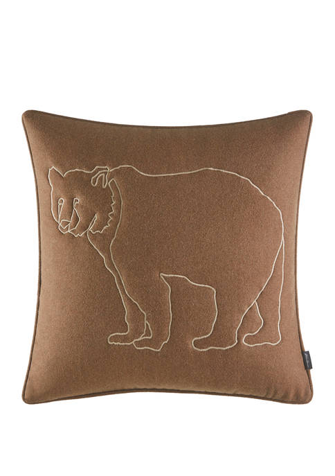 Eddie Bauer Bear Lines Decorative Pillow
