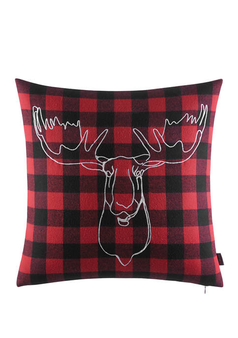 Eddie Bauer Moose Head Decorative Pillow
