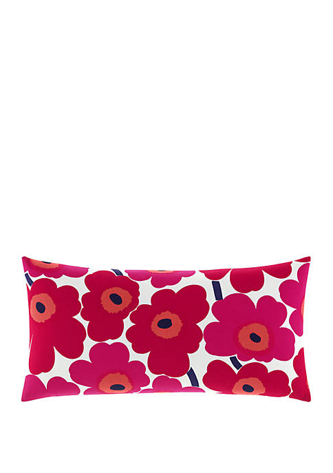 Pieni Unikko Red 15 in x 30 in Decorative Pillow