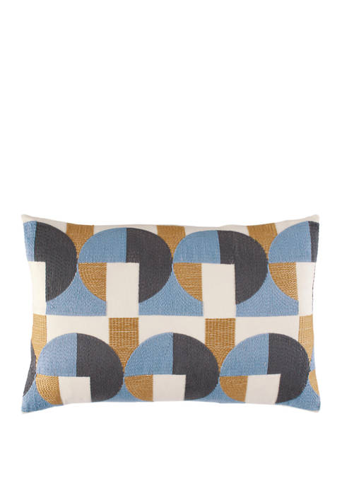 Novogratz Skye Geo Cotton Decorative Pillow