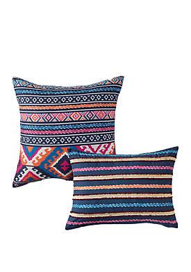 Kilim Stripe Decorative Pillows