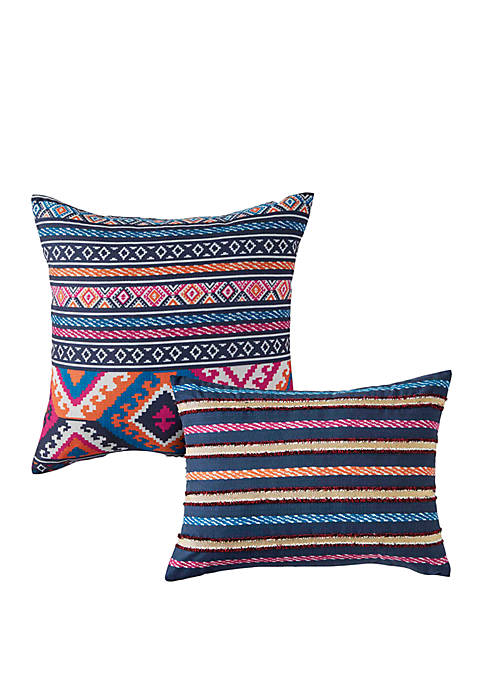 Azalea Skye Kilim Stripe Decorative Pillows