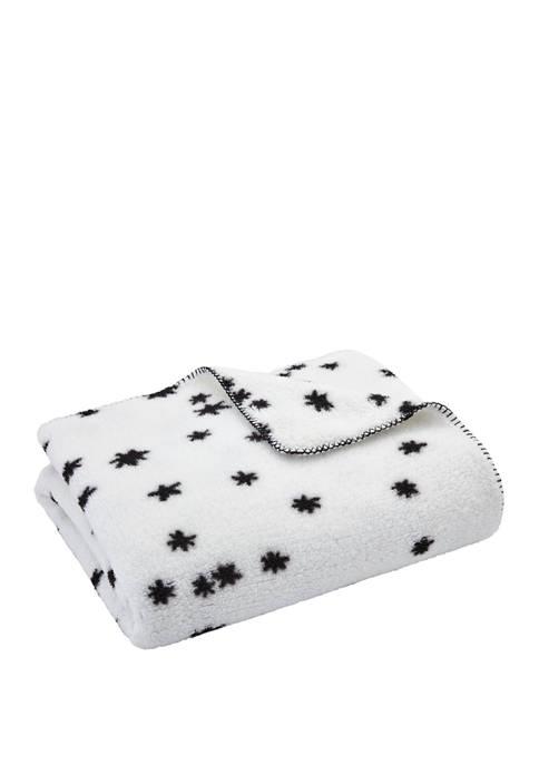 Novogratz Lola Sherpa Throw Blanket