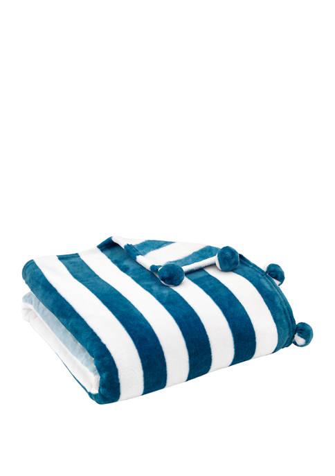 Novogratz Otis Sherpa Throw Blanket
