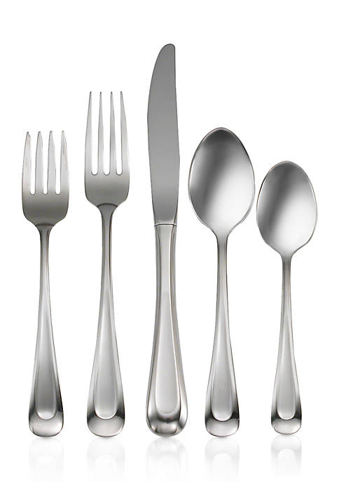 Satin Sand Dune 20-Piece Flatware Set