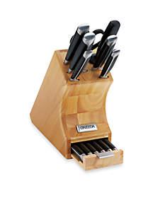 Oneida Pro Series 14-Piece Side Tang Knife Block Set