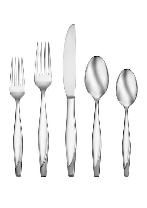 Oneida Nouvel 5-Piece Stainless Steel Flatware Set