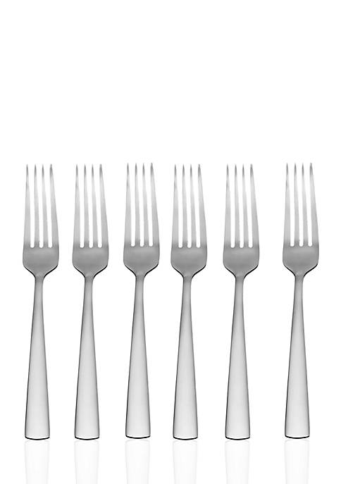 Oneida Aptitude Dinner Forks, Set of 6