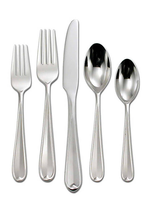 Oneida Dylan 42-Piece Stainless Steel Flatware Set