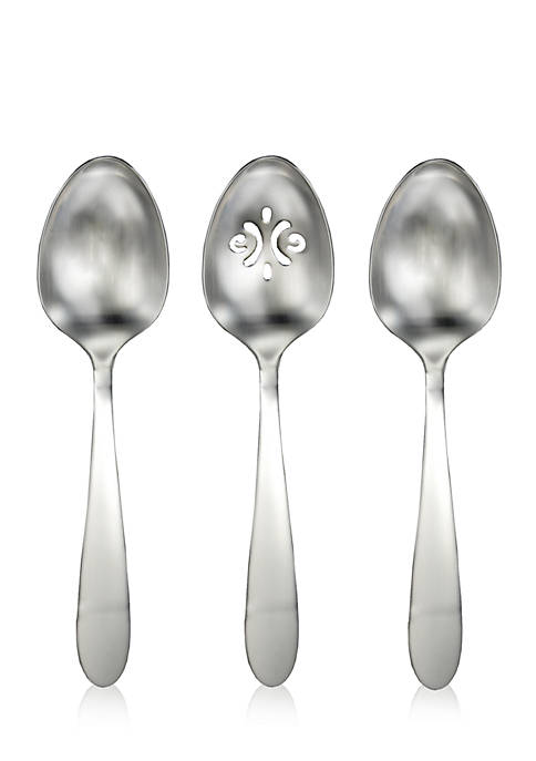 Vale Serving Spoons- Set of 3
