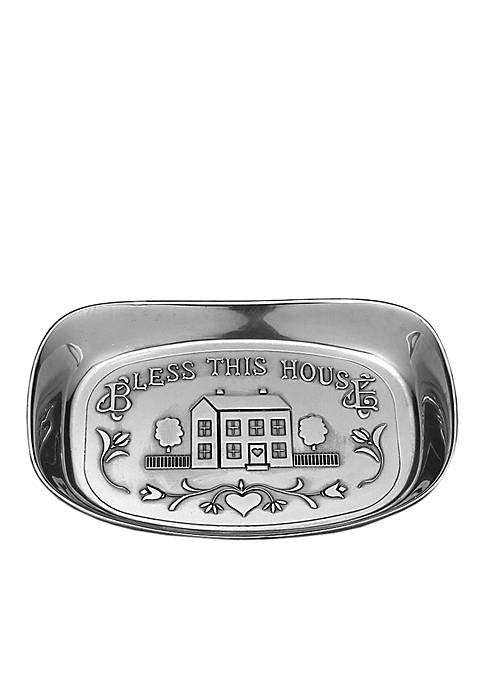 Wilton Armetale Bless This House Bread Tray