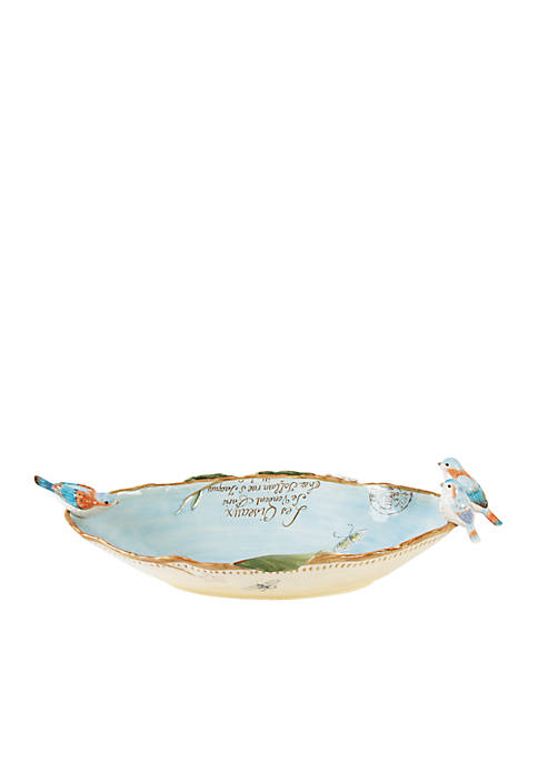 Fitz and Floyd Toulouse Centerpiece Bowl