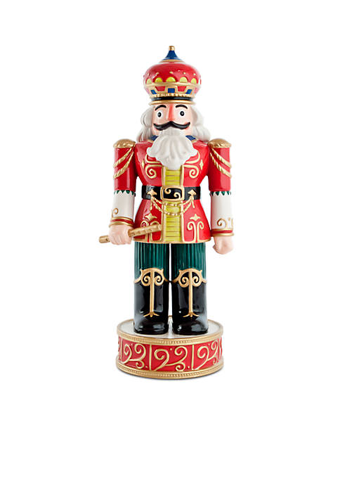 Fitz and Floyd Holiday Red Nutcracker