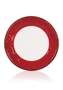 Yuletide Holiday Dinner Plate