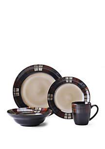 Calico 16-Piece Dinnerware Set - Online Only