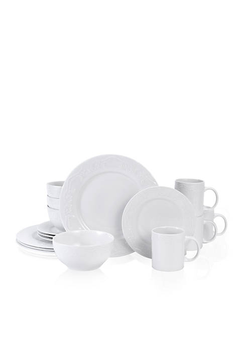 Charlotte 32-Piece Dinnerware Set