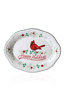 Cardinal Platter