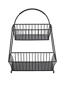 General Store 2-Tier Flatback Basket