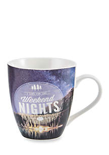Pfaltzgraff I Live For The Weekend Nights Mug