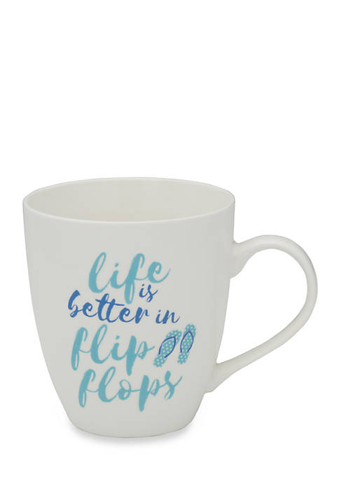 Pfaltzgraff Life Is Better In Flip Flops Mug