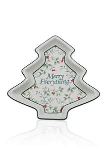 Winterberry Tree Plate