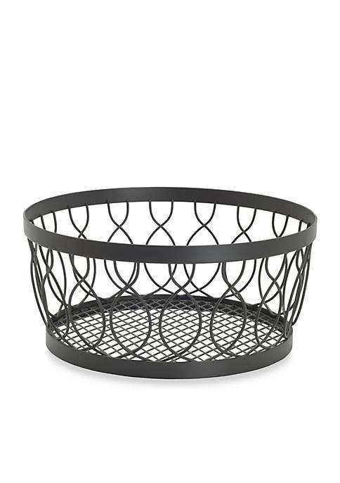 Mikasa Gourmet Basics Rustic Farmstand Centerpiece Basket