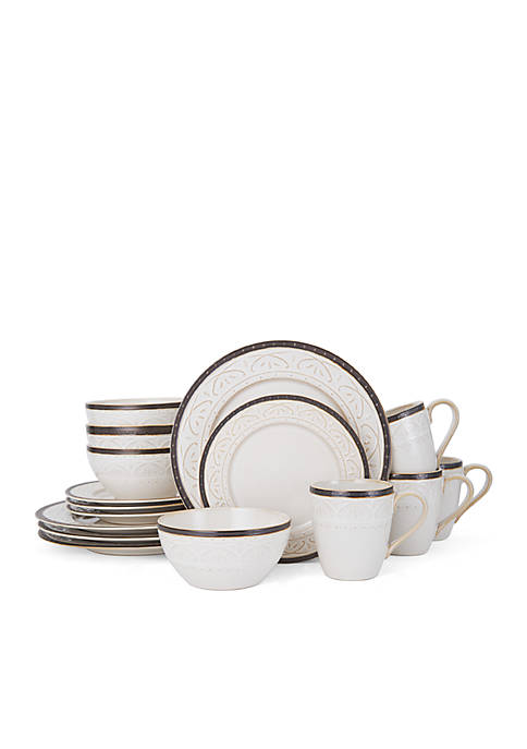 Promenade Scroll 16-pc. Dinnerware Set