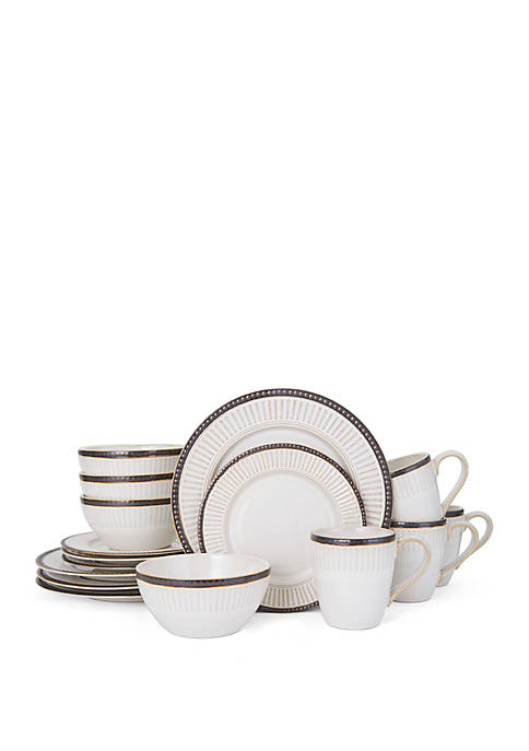 Pfaltzgraff Promenade Column 16-pc. Dinnerware Set