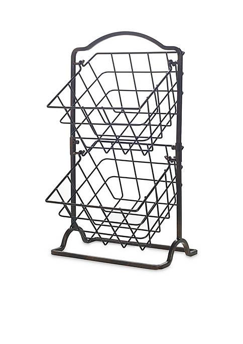 Mikasa General Store 2-Tier Hanging Baskets