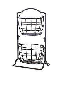 Harbor 2-Tier Hanging Baskets