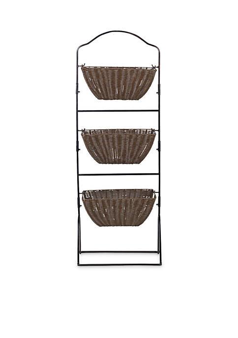 Mikasa Brinley 3 Tier Market Basket