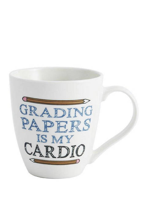 Pfaltzgraff 18 Ounce Grading Paper Is My Cardio