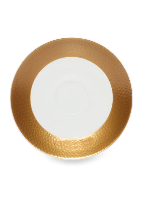 Mikasa Hammersmith Gold Saucer 6.5-in.