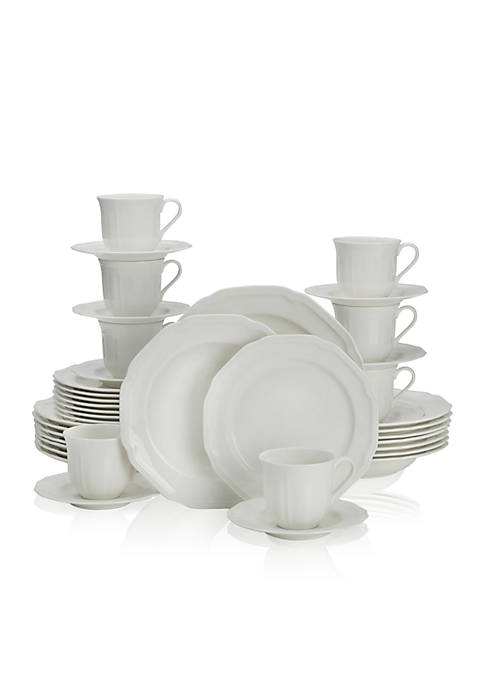 Mikasa Antique White 40-Piece Dinnerware Set